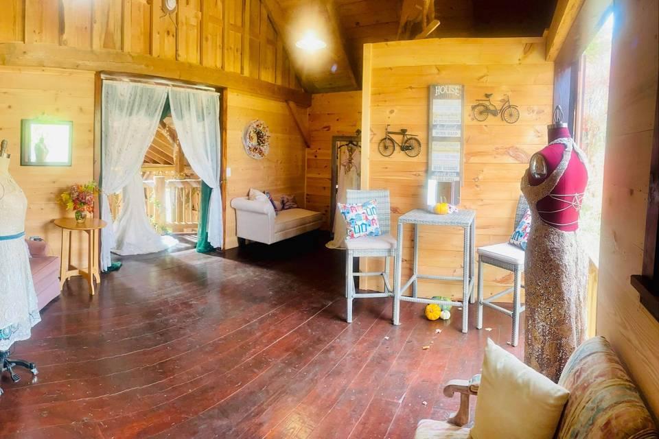 Bridal Suite Interior