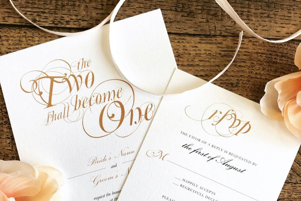Two become one RSVP