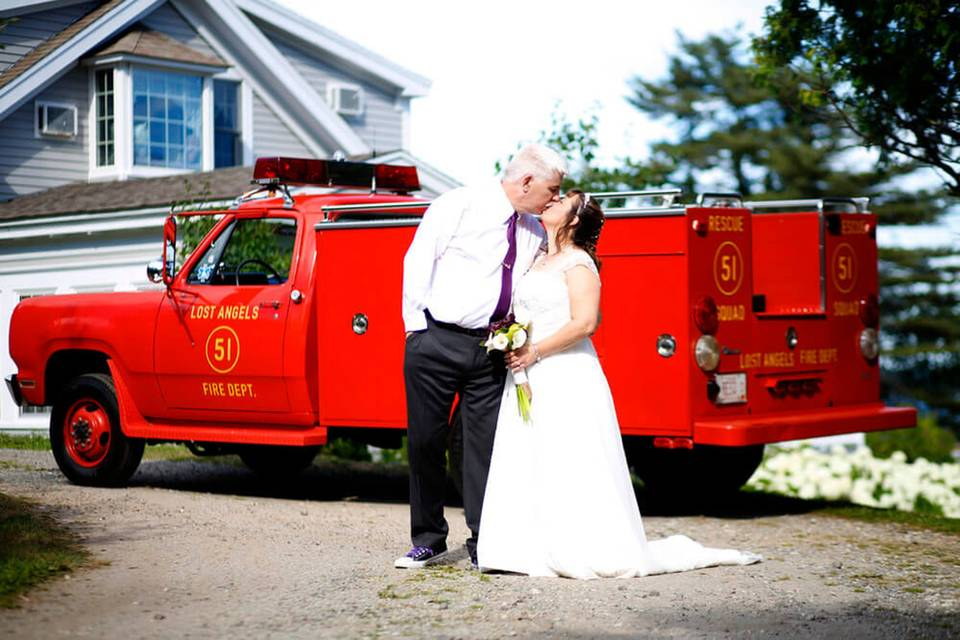 Firetruck kiss