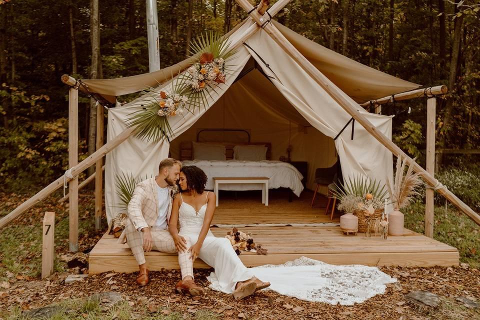 Glamping Honeymoon