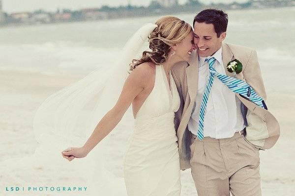 Florida destination wedding in Lido Key