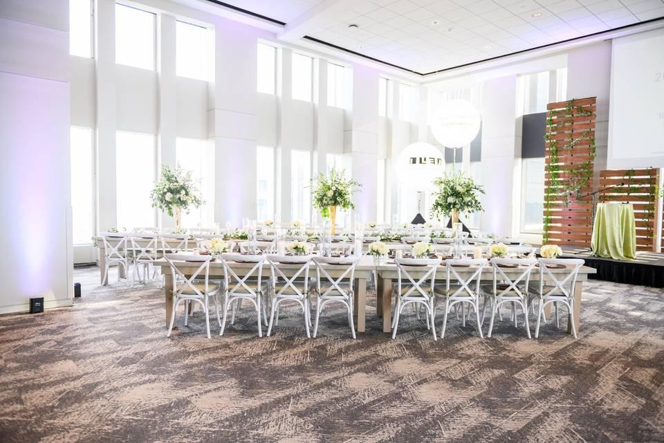 Long tables in VISTA