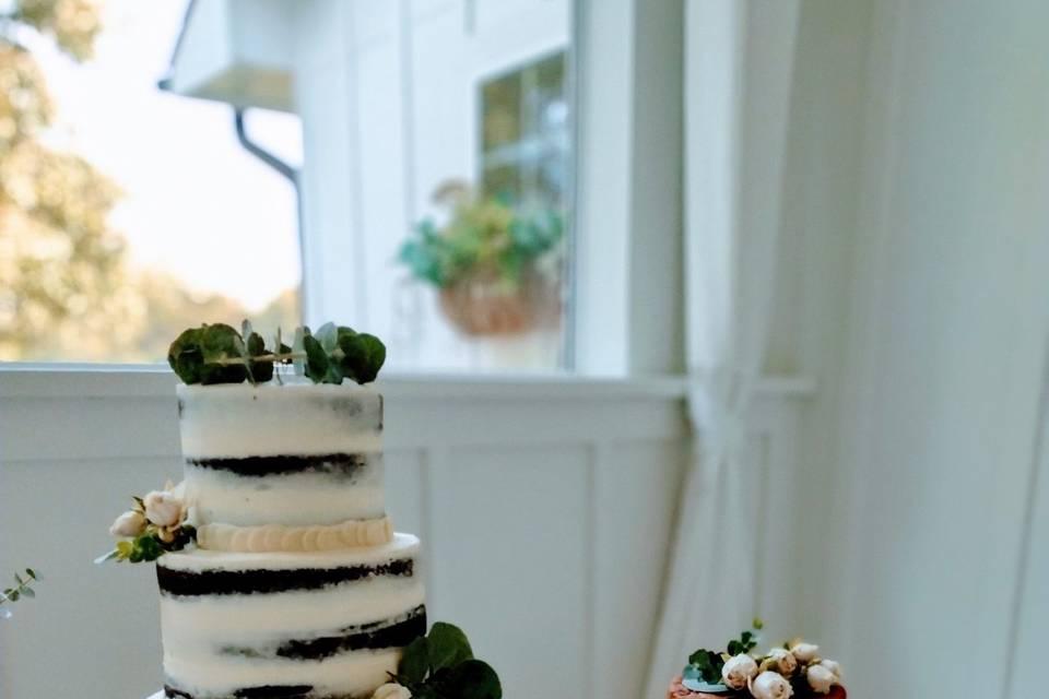 Minimalist wedding/grooms cake