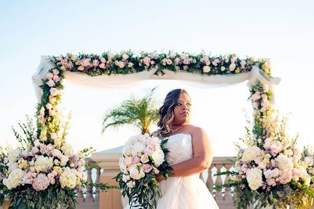 Floral bride