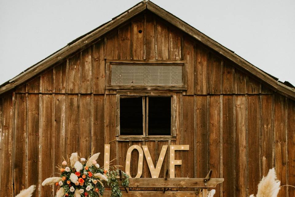 Visalia Boho Wedding