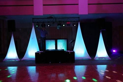 The appearance of our DJ setup is very clean and elegant.  Your guests will immediately notice a difference!