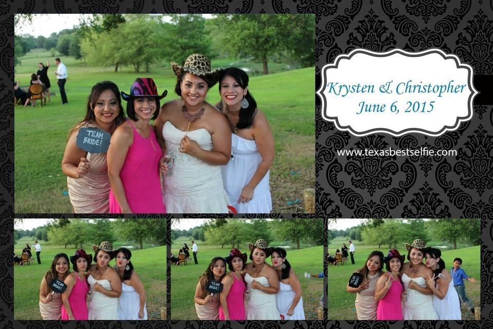Texas Best Selfie Photo Booth