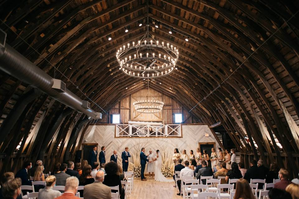 The Barn on Prairie