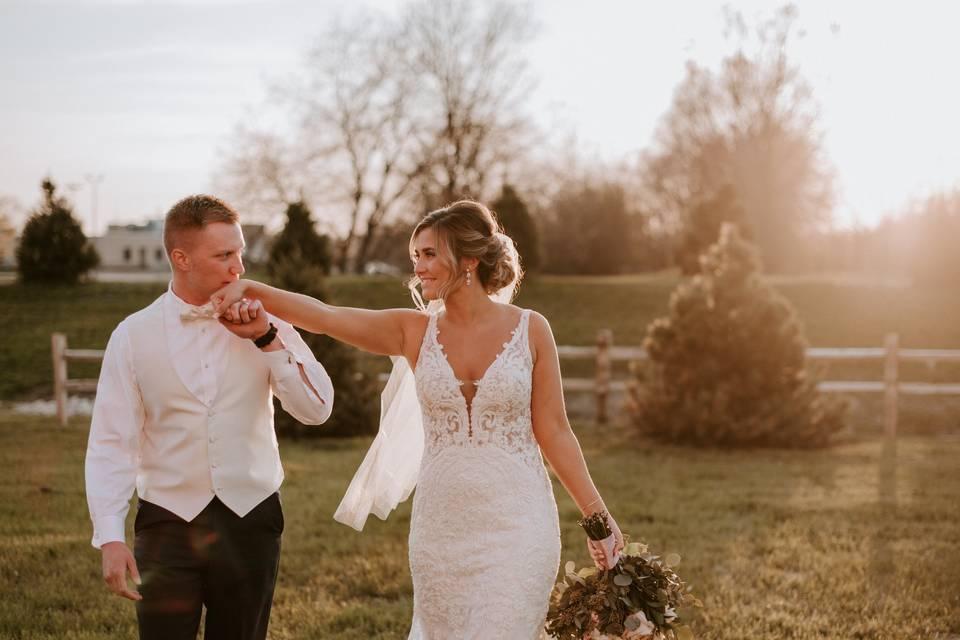 Happy couple - Clayhouse Photography