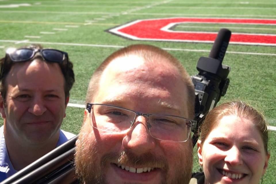 On Locaton at Ohio Stadium