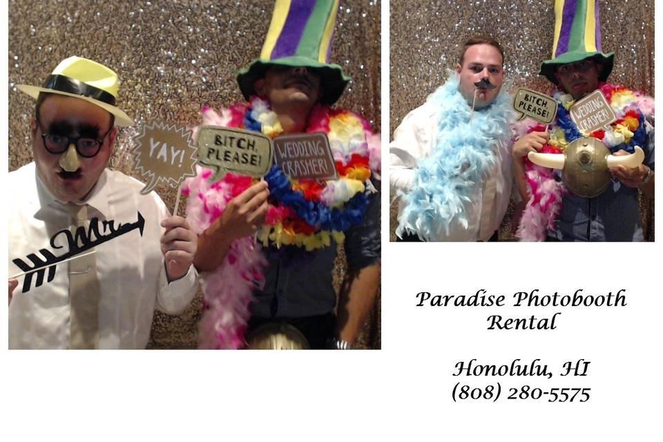 Paradise Photobooth Rental