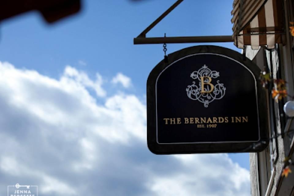 Outside the Bernards Inn