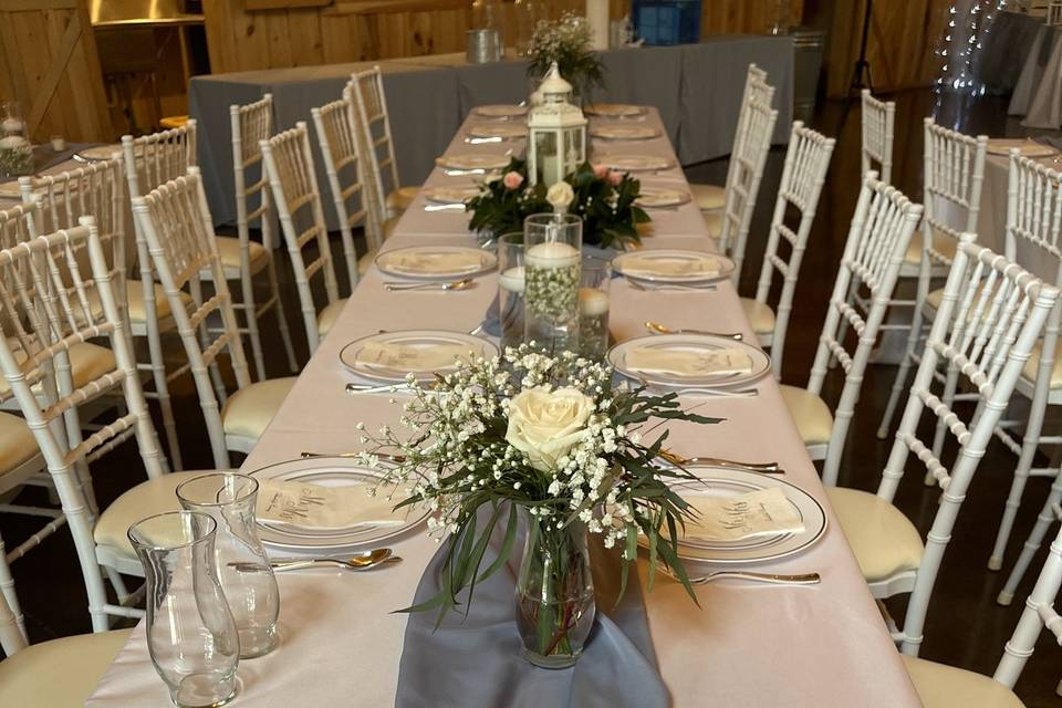 Table layout design