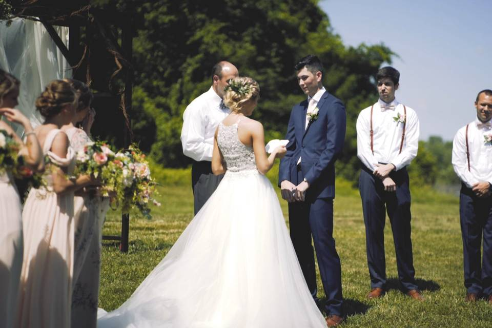 Wedding ceremony - Echo Hill Productions
