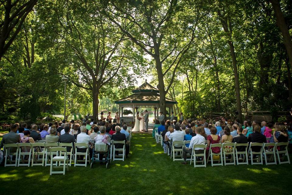 Open-air ceremony