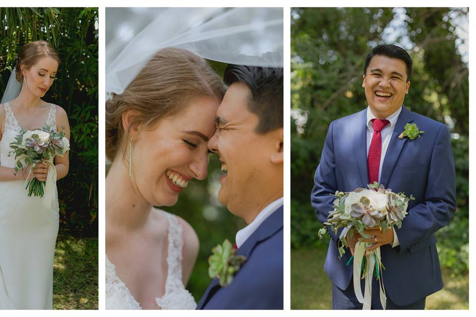 Wedding portraits - Mackenzie Rana Photography
