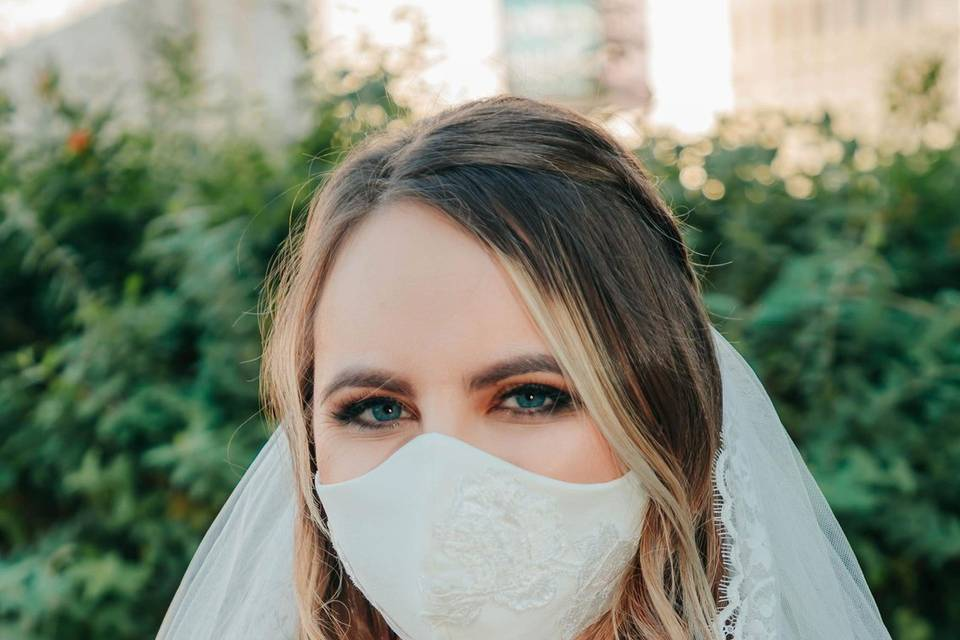Beautiful  bride Jordyn Ready
