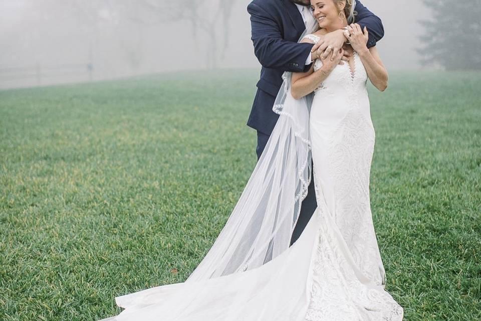 Foggy Morning Wedding