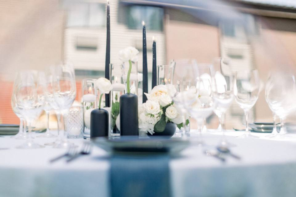 Table by Diamond Rental
