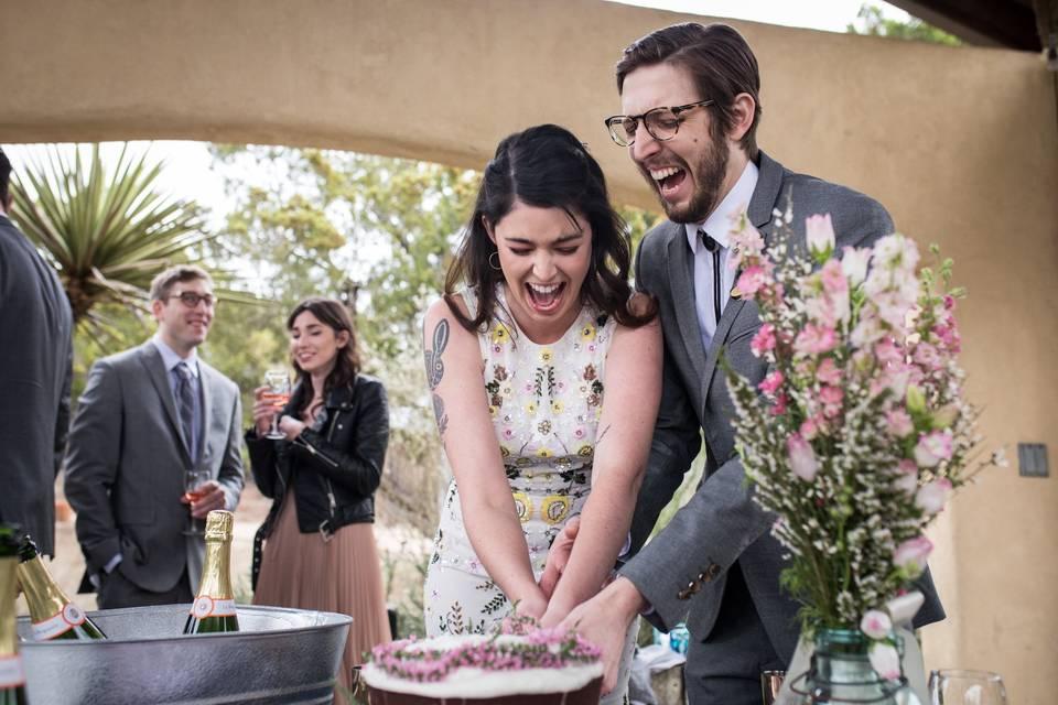 Helen & david cake enthusiasm