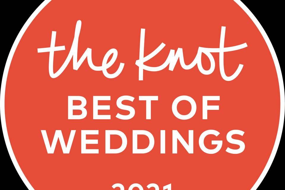 The Knot 2021 award