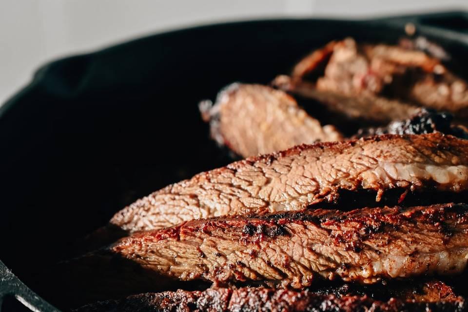 Delicious beef brisket