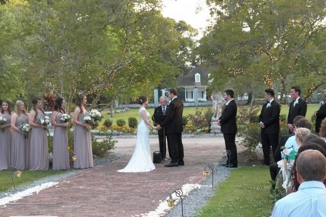White Oak Wedding