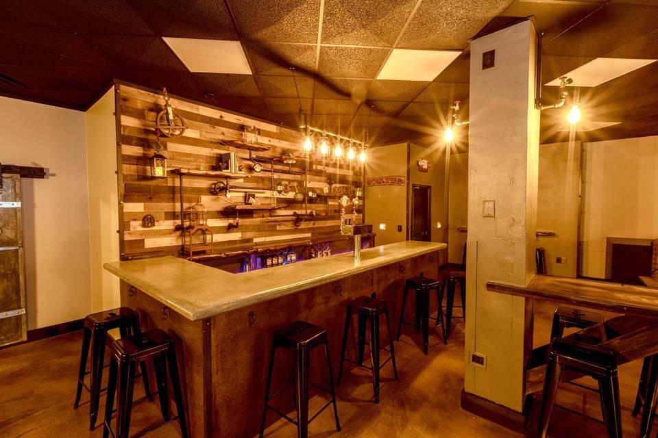 The Foundry Hall bar