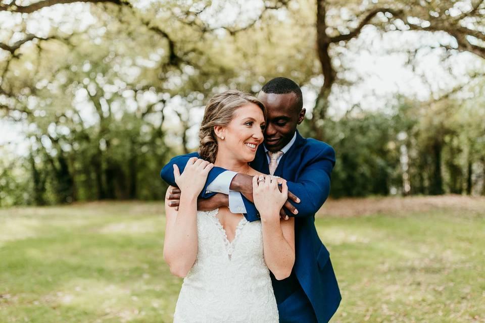 Spring wedding at Mercury Hall