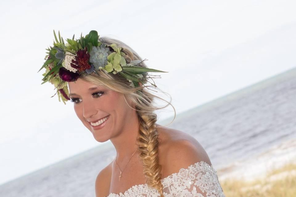 A very pretty bride!