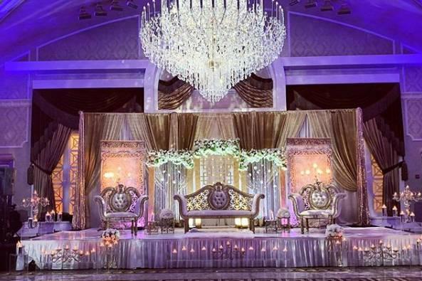 Aisha's Wedding Decor