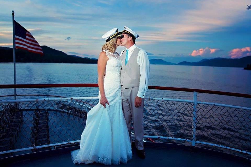 Lake George Boat Weddings
