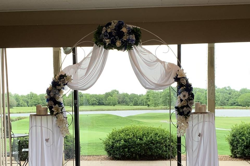 Small Flower Arch