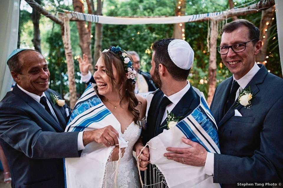 Rabbinical Blessing with Joy!