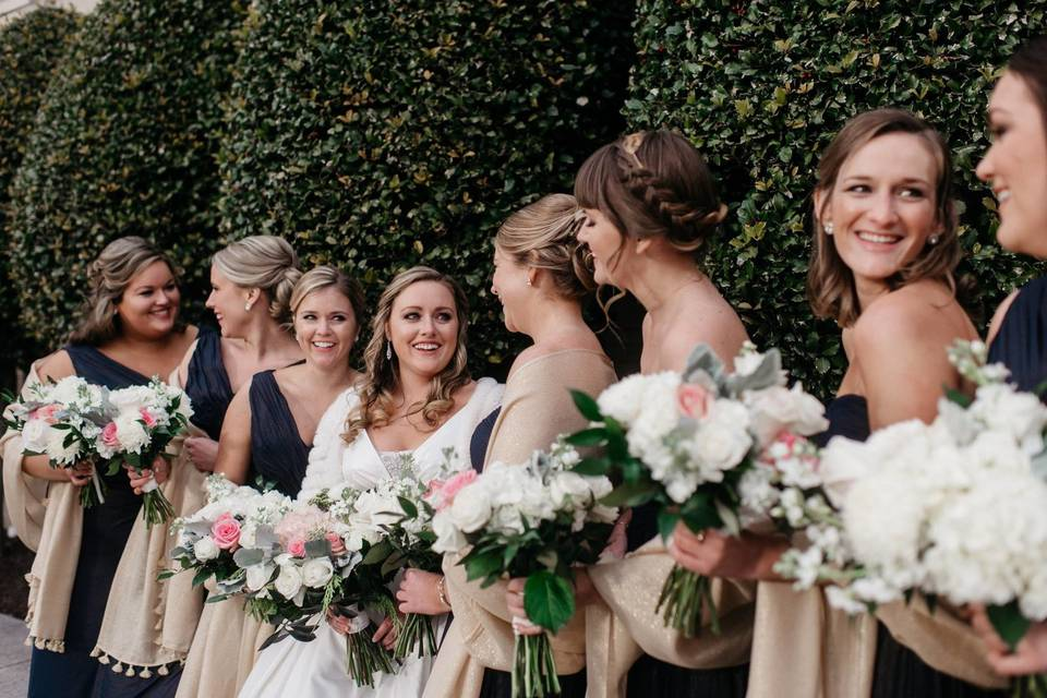 Bridal party - photo by alex c tenser