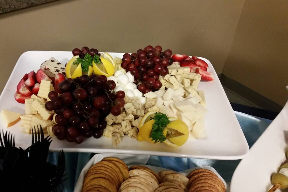 Who doesn't like a cheese tray