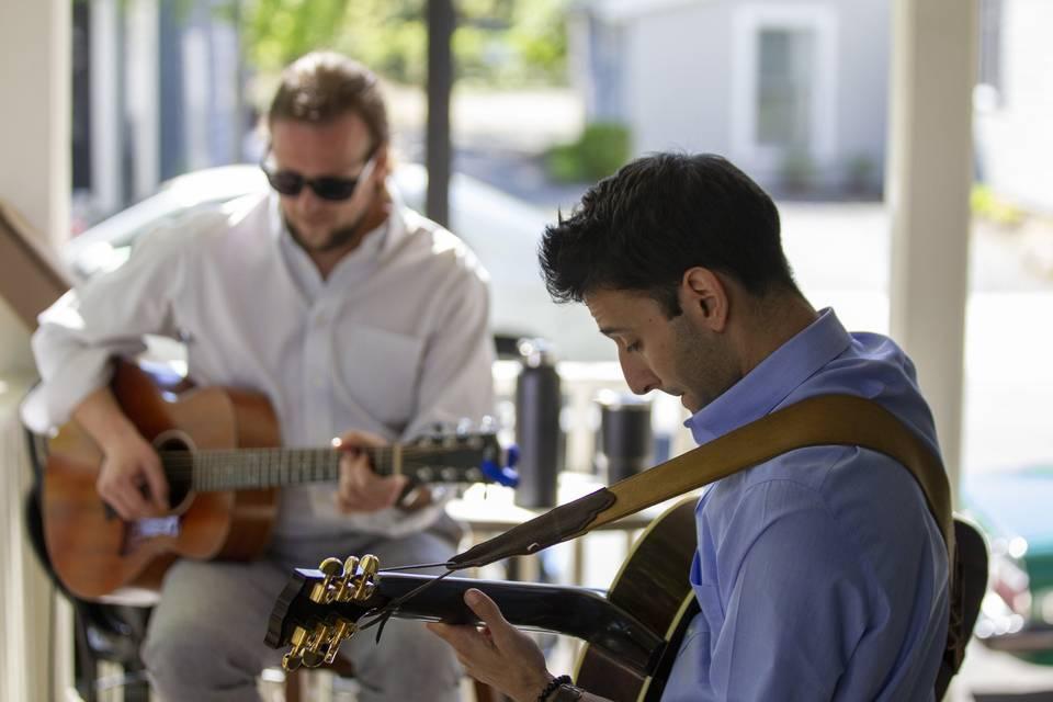 Guitar musicians