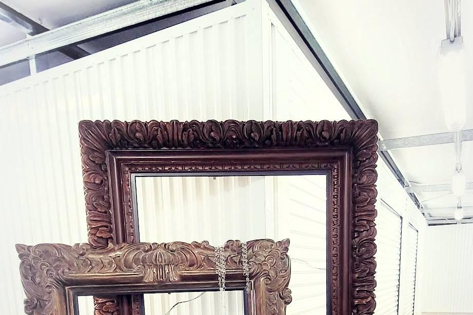 Oversized art frames