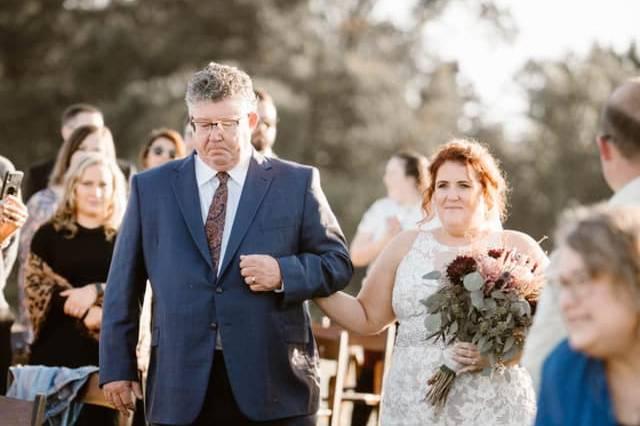 East TN bride