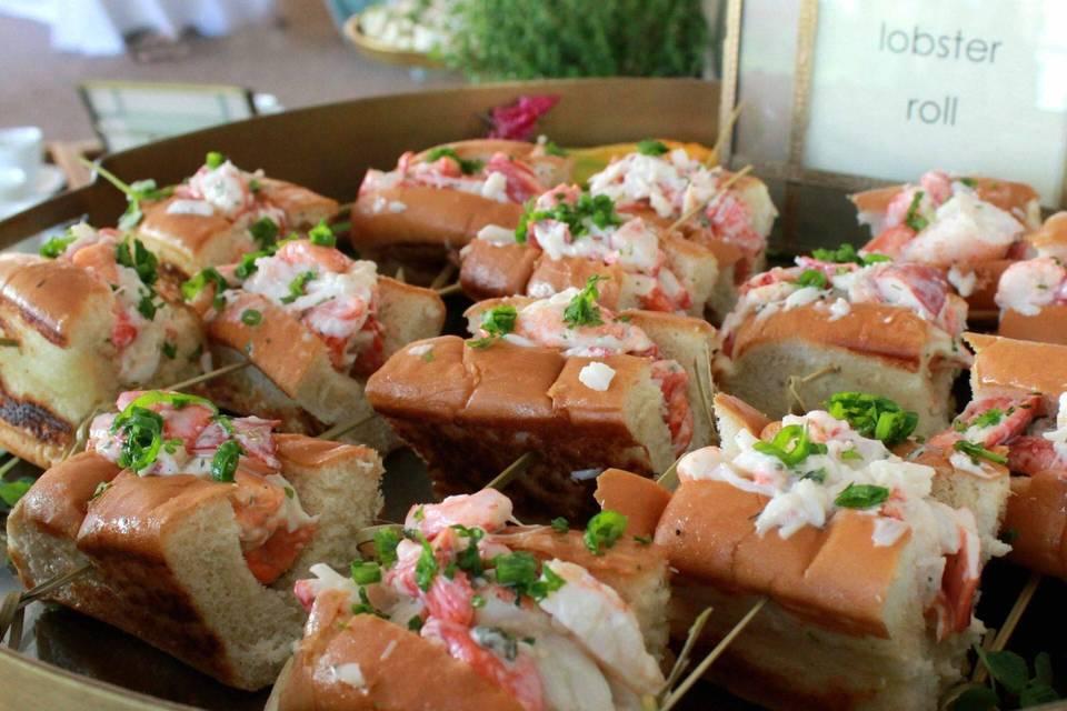 Lobster rolls catering tulsa