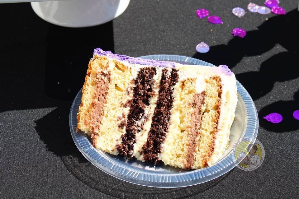Tall Cake Slice