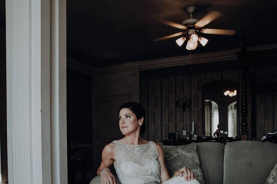 One of their beautiful brides