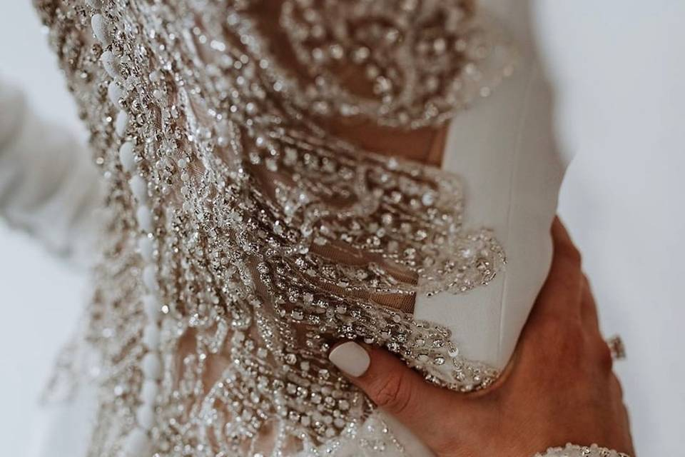 Gorgeous detailing on the back