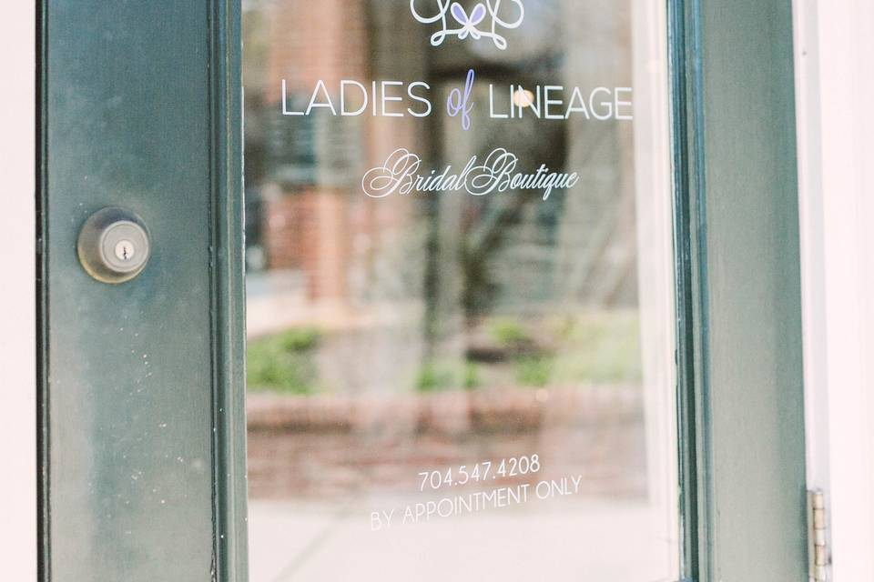 Welcome to Ladies of Lineage