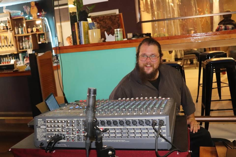 BC - our sound enginer & DJ/KJ