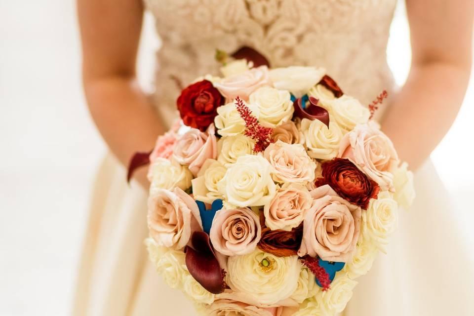 Round Bouquet-MasonPhotograpy