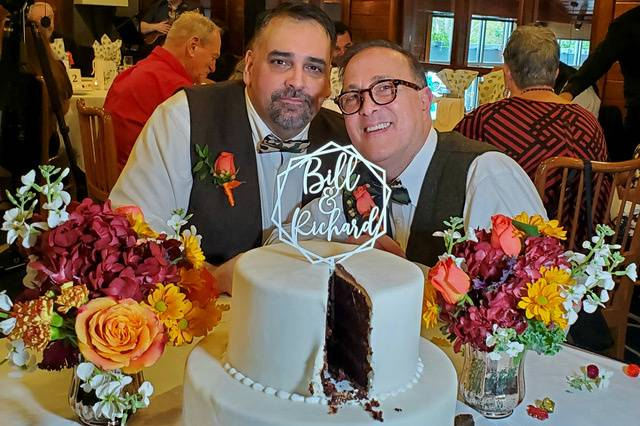Richard and Bill Married