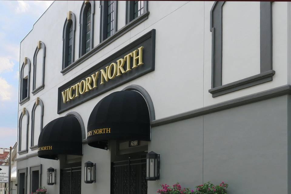 Victory North entrance