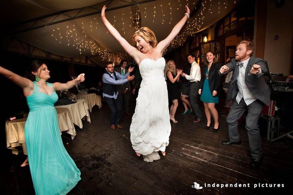 Jump! you can't avoid this reaction during a killer playlist with Audiodress! Image courtesy Independent Pictures Turin Italy