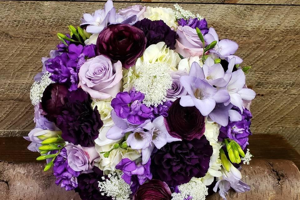 Beautiful purple & lavendars